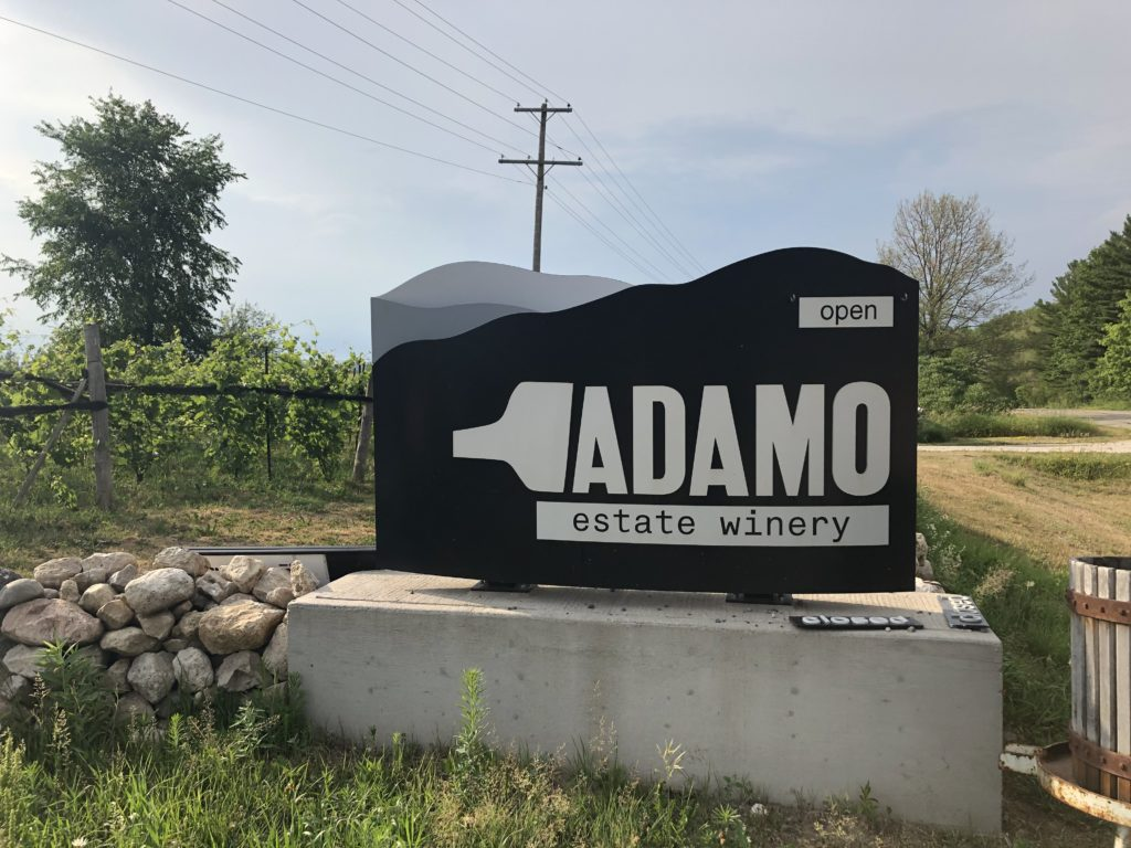 Welcome to Adamo Estate Winery