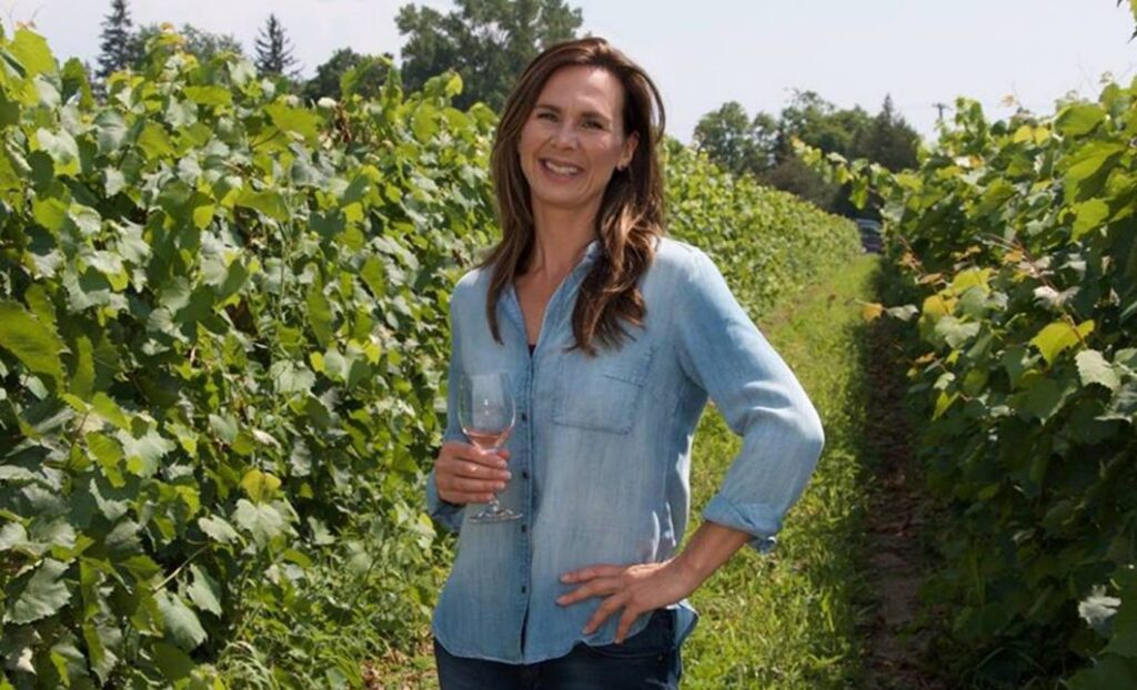 Catherine Langlois of Sandbanks Winery