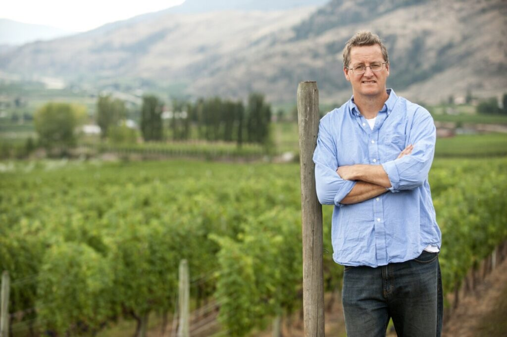 Philip McGahan of CheckMate Winery