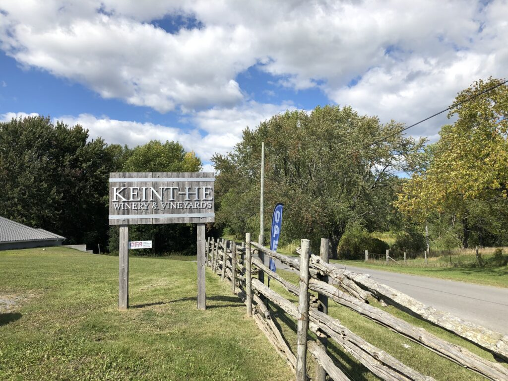 Keint-he Winery in Prince Edward County