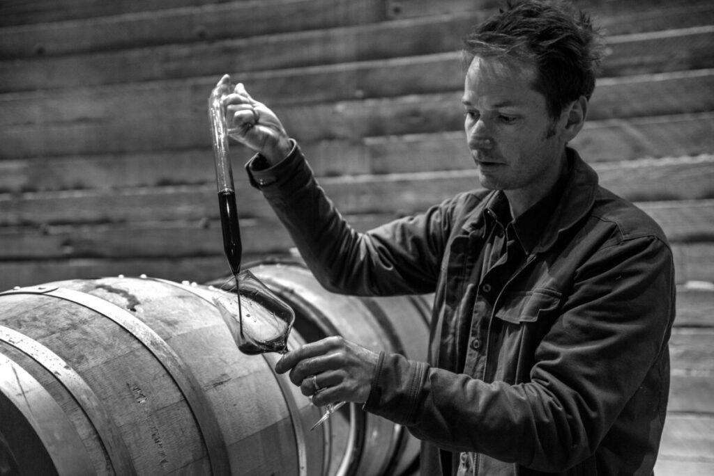 Shane Munn of Martin's Lane Winery